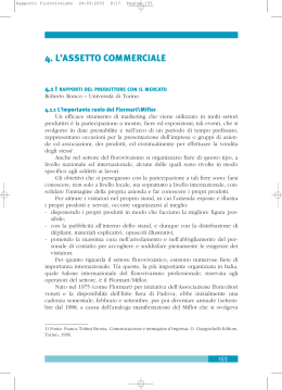 4. l`assetto commerciale