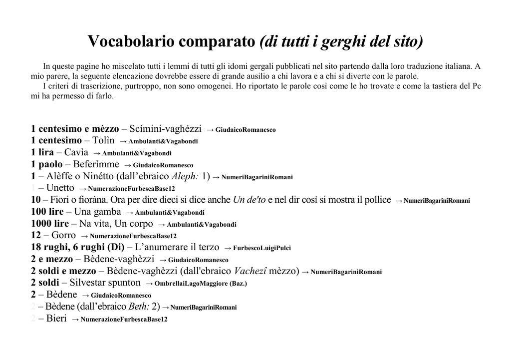 ritorno 1 - gerghi italici 7b6401704945