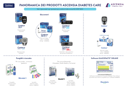 PANORAMICA DEI PRODOTTI ASCENSIA DIABETES CARE