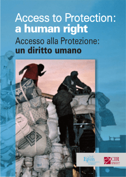 Access to Protection: a human right