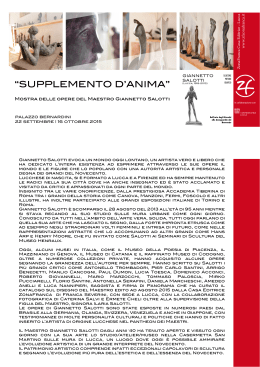 libretto Supplemento d`Anima