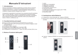 Manuale D`istruzioni - August International