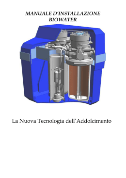 manuale_bio water - NWA-TECH