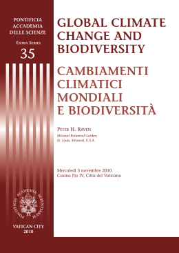 Closed Session Libretto A5.qxd - Pontifical Academy of Sciences