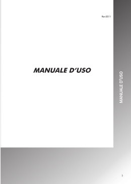 Manuale uso ASTRA ON-OFF