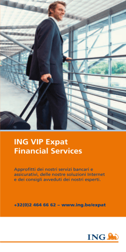 ING VIP Expat Financial Services
