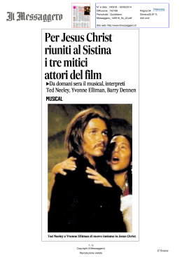 Messaggero 18 sett