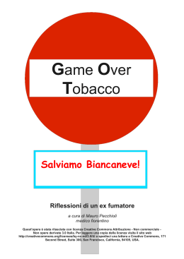 Game Over Tobacco - Amazon Web Services