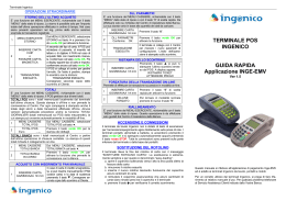Manuale Ingenico 5100