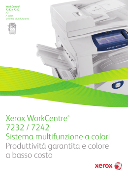 WorkCentre 7232/7242 Brochure