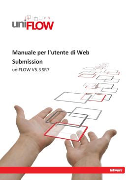 Manuale per l`utente di Web Submission - NT-ware