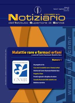 (Volume 20 Numero 9 - Supplemento 1 - 2007) [PDF
