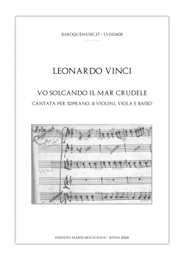 Score - Baroque music