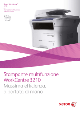 WorkCentre 3210/3220 Brochure