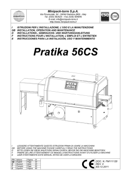Pratika 56CS - Minipack Help Center