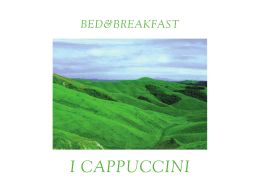 Copia di libretto 2.indd - Bed & Breakfast Lucignano I Cappuccini