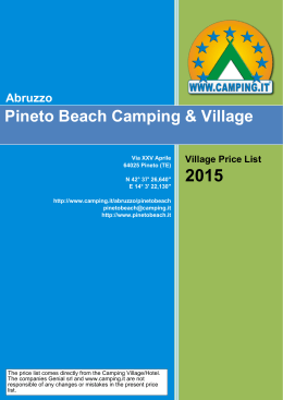 Village Price List