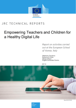 Empowering Teachers and Children for a Healthy Digital Life