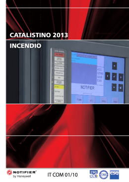 Catalogo NOTIFIER