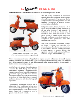 180 Rally - Vespa Club San Vincenzo