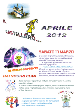 Sabato 17 marzo - madremisericordia.it