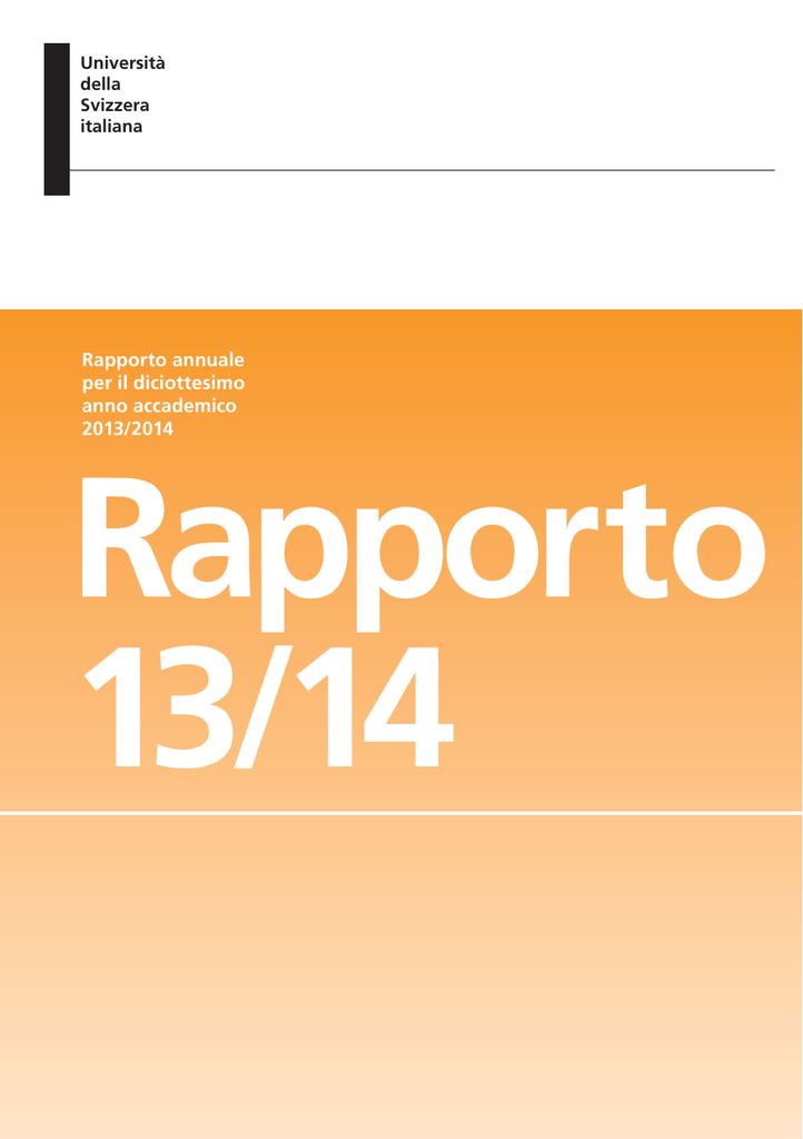 Rapporto annuale 2013 2014 fandeluxe Choice Image