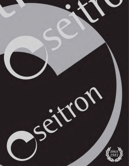 Catalogo Seitron 2014 rev. 1.2