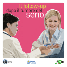 Il follow-up - Follow-Up in Oncologia. Il portale informativo per