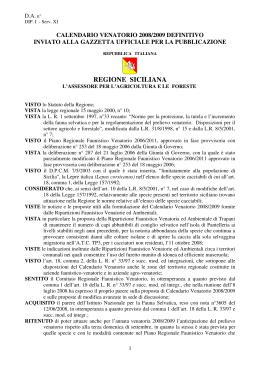 Federazione Siciliana Della Caccia Calendario Venatorio.Scarica File Federazione Siciliana Della Caccia