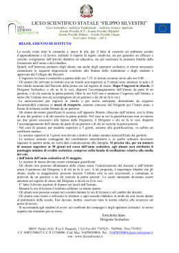 "LICEO SCIENTIFICO STATALE ""FILIPPO SILVESTRI"""