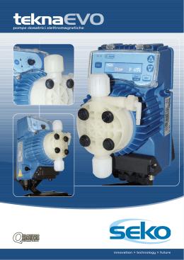 Teknaevo pompe per l industria galvanica e chimica for Minidos pm009