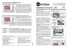 Intellitherm c51 logo fantini cosmi for Fantini cosmi intellitherm c55