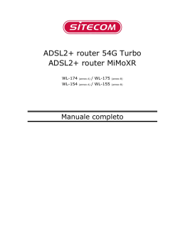 ADSL2+ router 54G Turbo ADSL2+ router MiMoXR