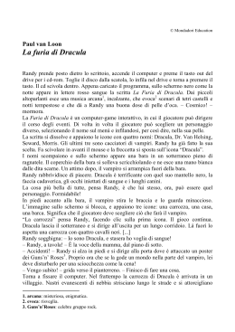 La furia di Dracula - Mondadori Education