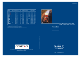 CATALOGHI Catalogo INDEL B - CFF srl