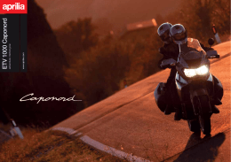 ETV 1000 Caponord adventure motorcycle