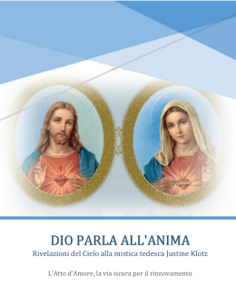 "Scarica libretto ""Dio parla all`anima"""