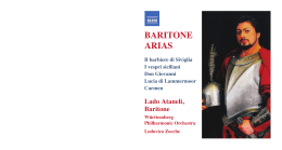 bariton arias - The Classical Shop