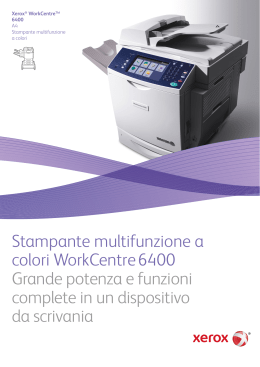 Brochure - WorkCentre 6400