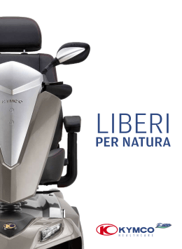 Scooter elettrici Kymco Healthcare