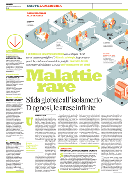 Sfida globale all`isolamento Diagnosi, le attese infinite