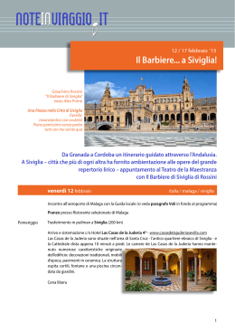 brochure - Noteinviaggio