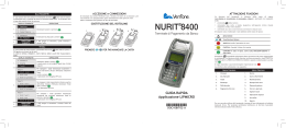 Manuale Verifone Nurit 8400