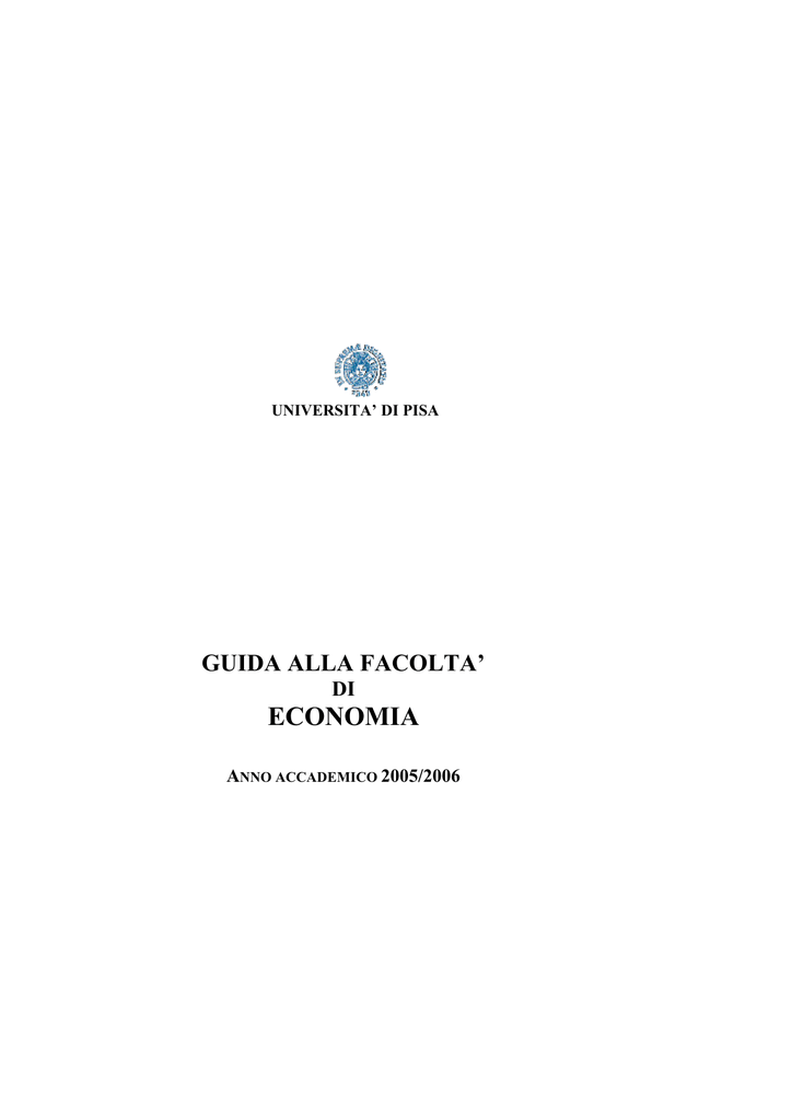 Unipi Calendario Accademico.Informazioni Utili Universita Di Pisa