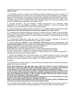 Calendario Sedute Di Laurea Unisa.Regolamento Studenti Unisa Universita Degli Studi Di Salerno