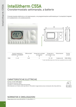 Intellitherm c31 stock elettrico for Fantini cosmi c32