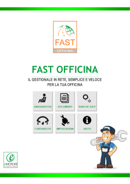 fast officina - Gestionale FAST