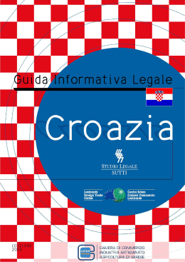 Croazia - Camera di Commercio Varese