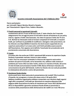 UniCredit - AssoPensBdS