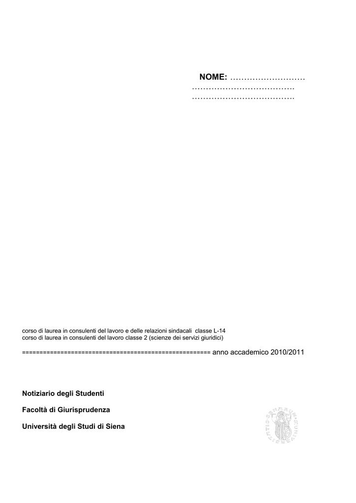 Calendario Didattico Unisi.Nome Unisi It Universita Degli Studi Di Siena